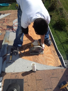Roofing and flashing repair