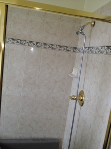 new shower tile wall