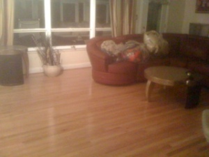 New white oak hardwood floors